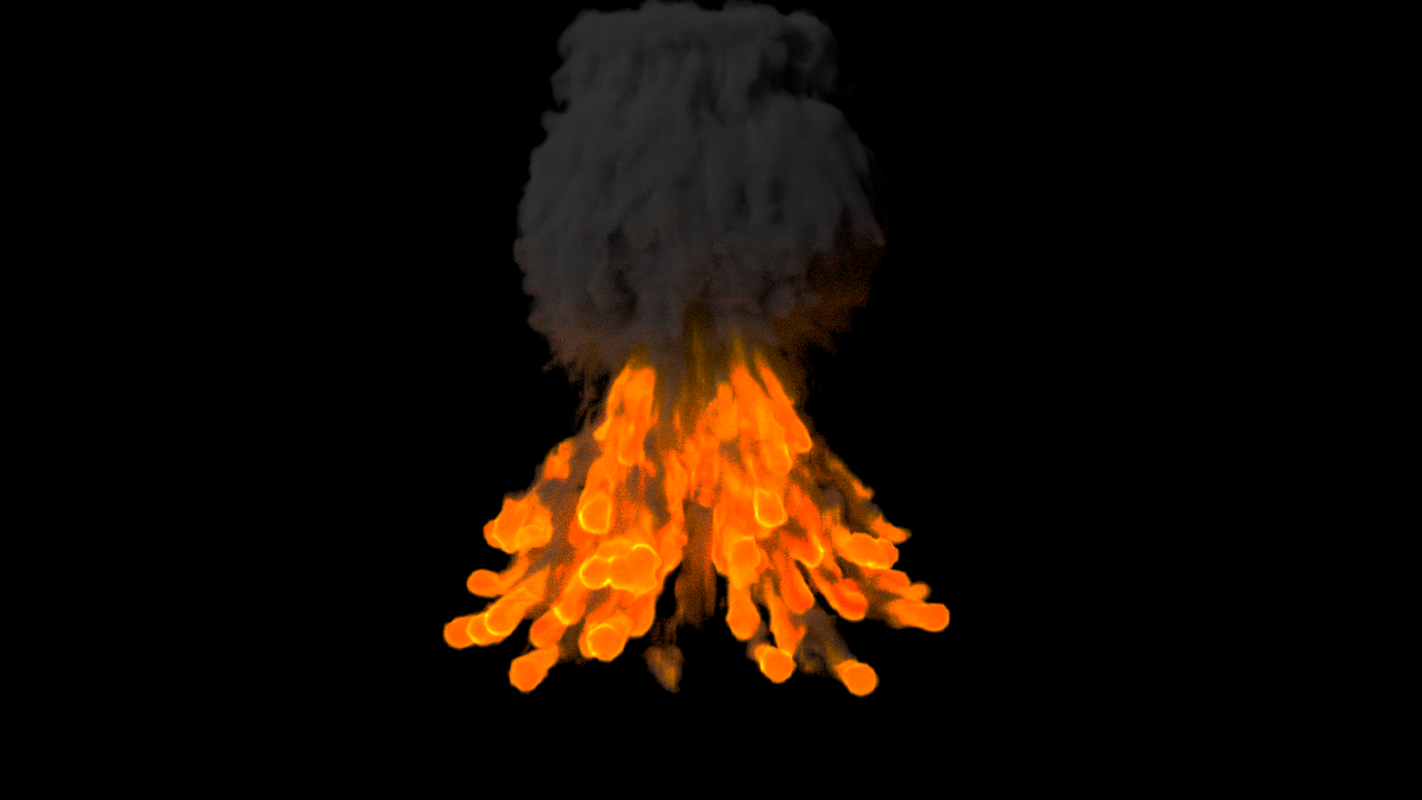 Explosion animation Free 3D Model in Animations 3DExport