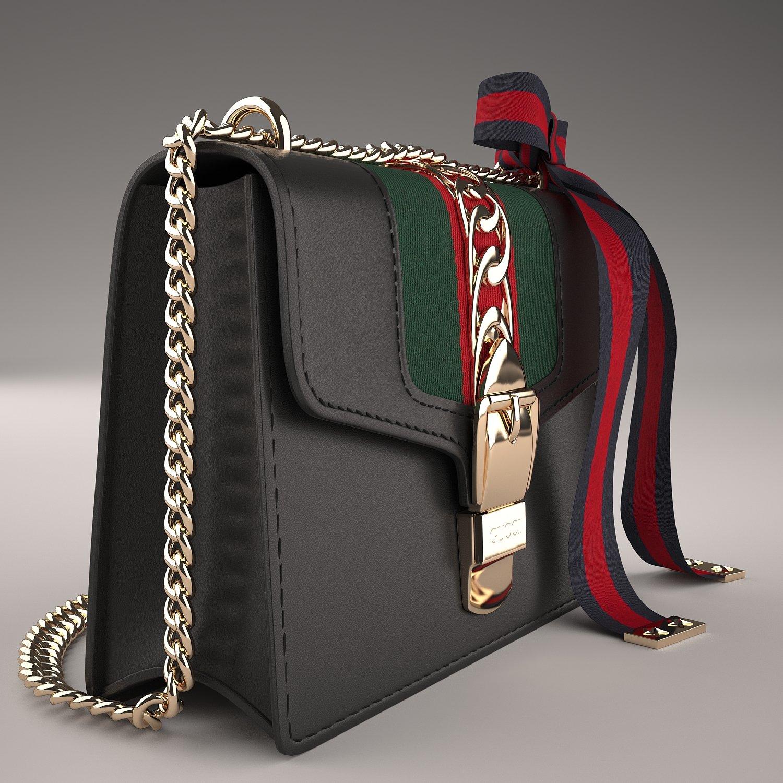 85e89ec3ebc Gucci Sylvie Leather Mini Chain Bag. Remove Bookmark Bookmark This Item