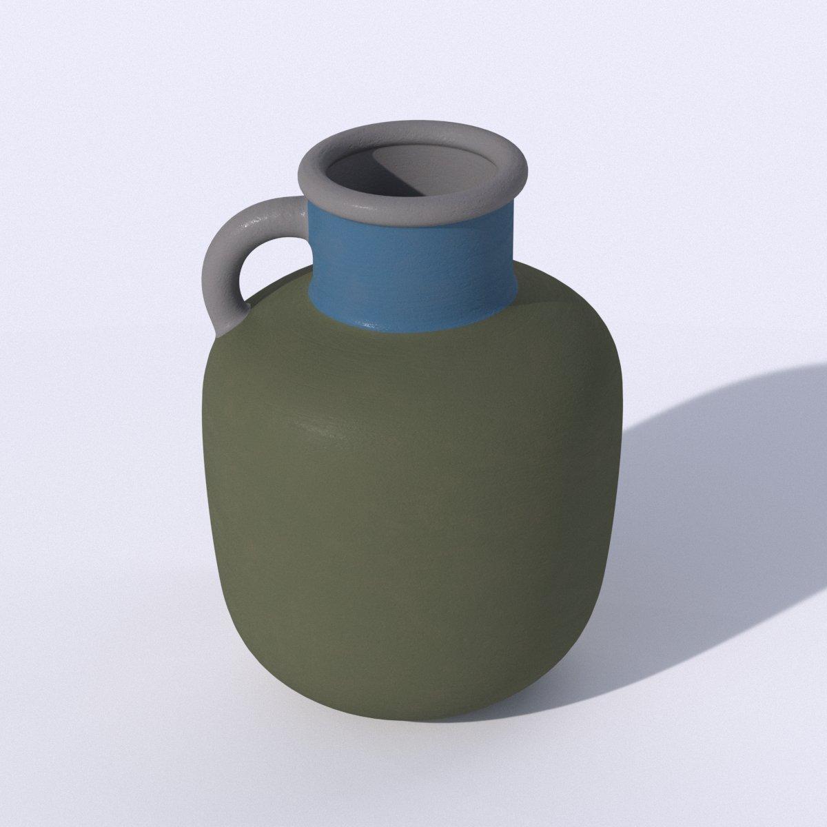Ikea Ypperling Green Vase 3d Model In Decoration 3dexport