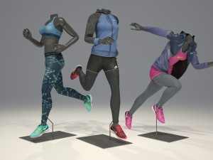 sportswear 3D Models - Download 3D sportswear Available
