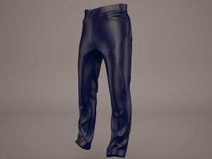 man jeans cloth 3d model 3D Models Download Available