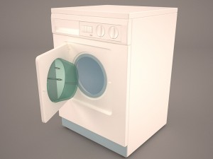Washing Machine 3D Modell