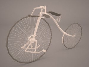 Old Bicycle 3D Modell