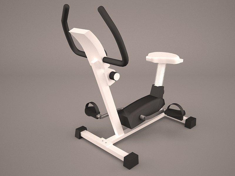 Exercise Bike 3D Model in Sports Equipment 3DExport