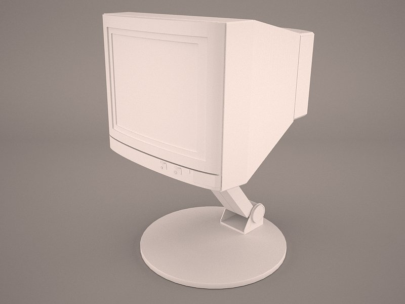 Old PC Compaq deskpro 3D Model in Computer 3DExport