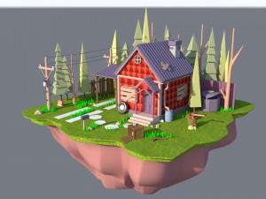 Environments 3D Models - Download 3D Environments Available