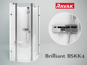 Ravak Brilliant BSKK4 3D Modell