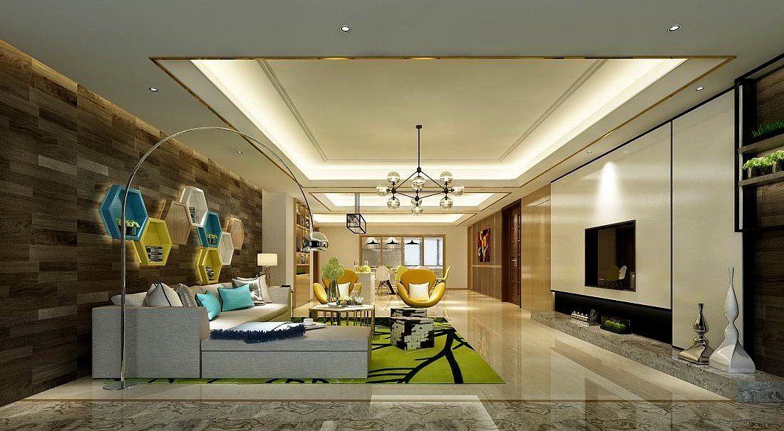 Stylish Avantgarde Living Room Design 48 48DModell In Wohnzimmer Interesting A Living Room Design Model