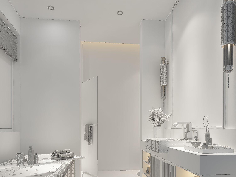 Bathroom design complete model 20 3D Model in Bathroom 3DExport