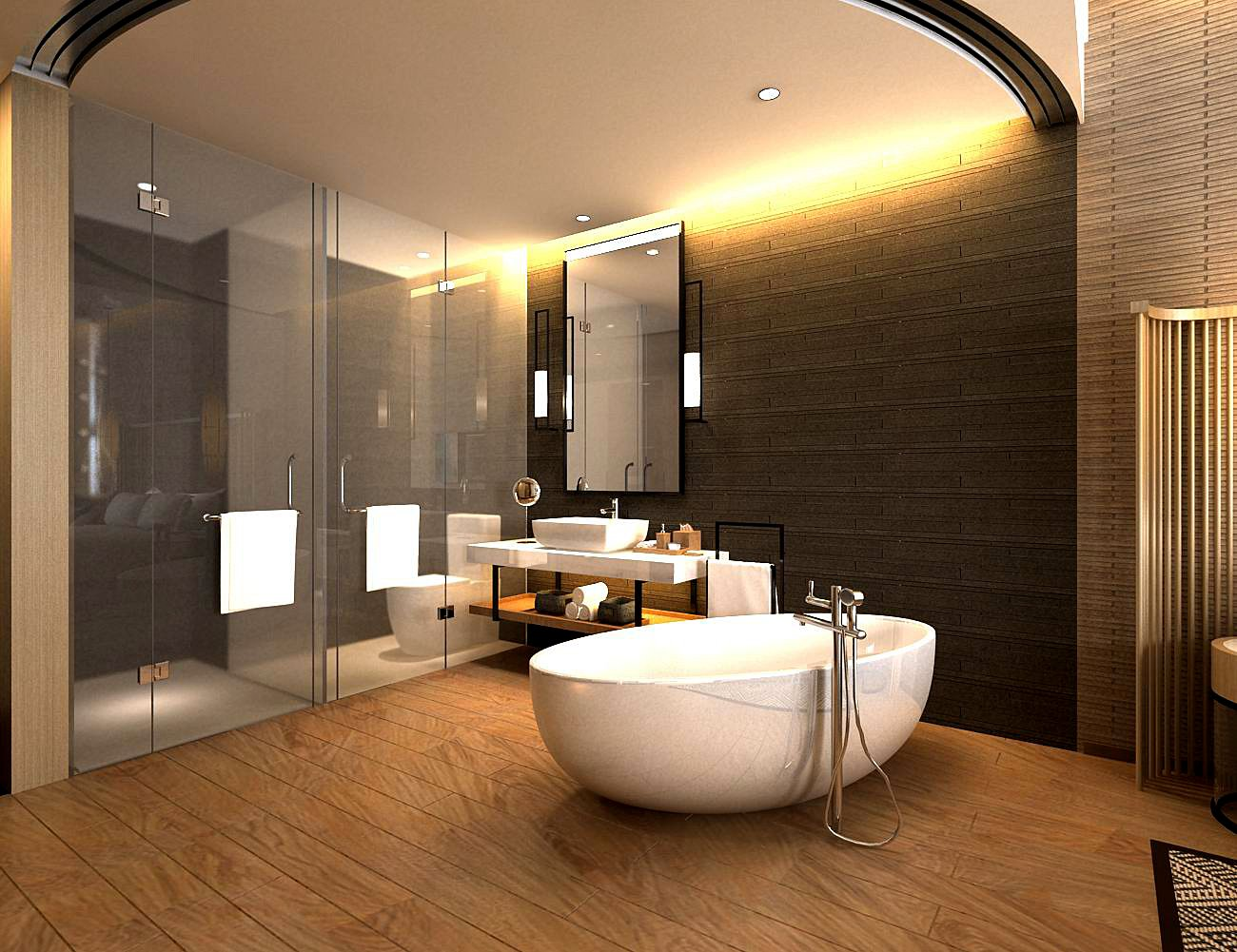 Bathroom Design Complete Model 95 3d Model In Bathroom 3dexport