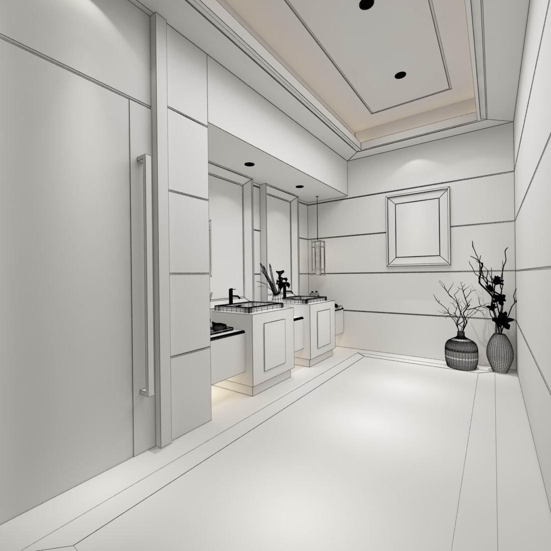 Bathroom design complete model 178 3D Model in Bathroom 3DExport