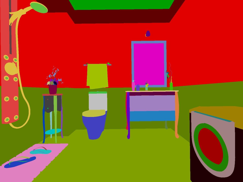 Family style sanitary bath toilet 1821 3D Model in Bathroom 3DExport
