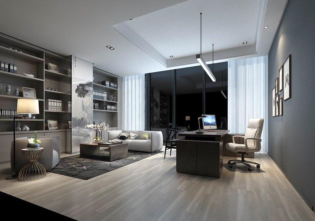 Boss manager office 37 3D Model in Office 3DExport