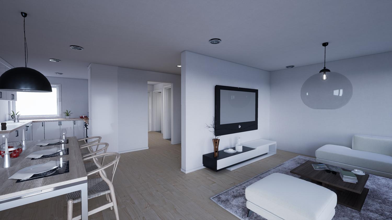 VR Photo realistic InteriorUNREAL ENGINE 3D Model in Animations 3DExport