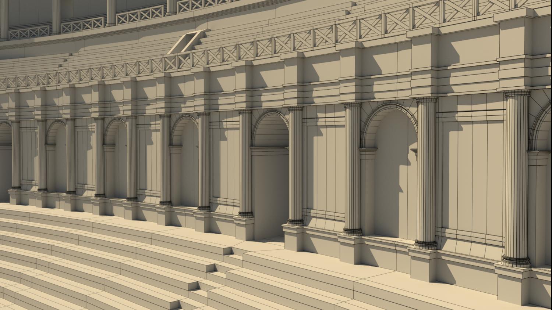 Roman Colosseum Reconstruction 3D Model in Landmarks 3DExport