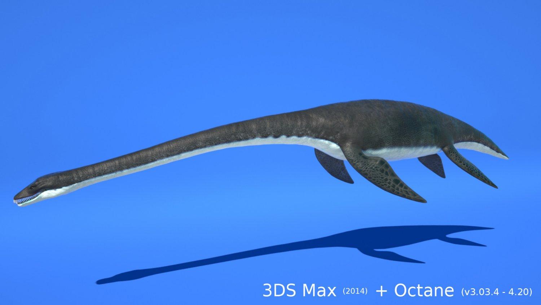 Ocean Plesiosaur Pack - with UE4 support 3D Model in Dinosaur 3DExport