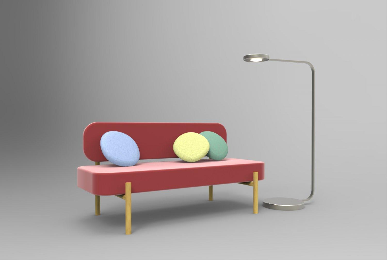 IKEA Collection YPPERLIG 2018 Modelo 3D in Sofá 3DExport