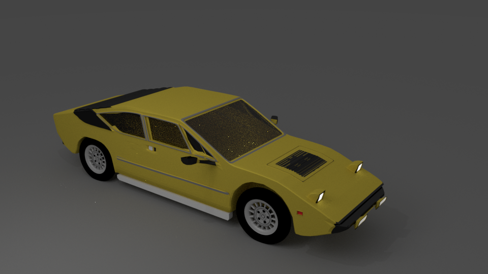 Lamborghini Urraco 3d Model In Old Cars 3dexport