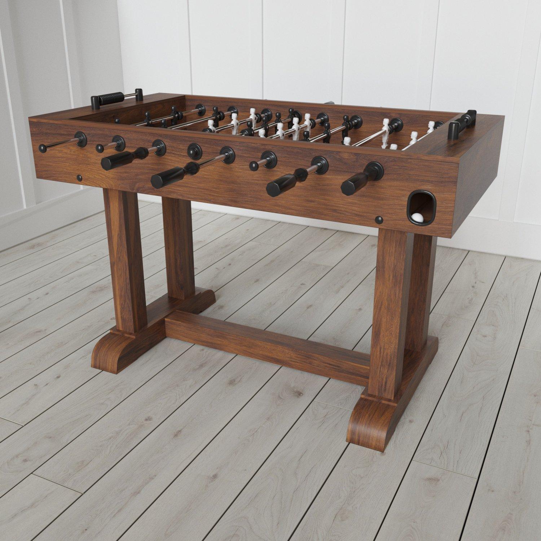 POTTERY BARN FOOSBALL TABLE 3D Model in Board Games 3DExport
