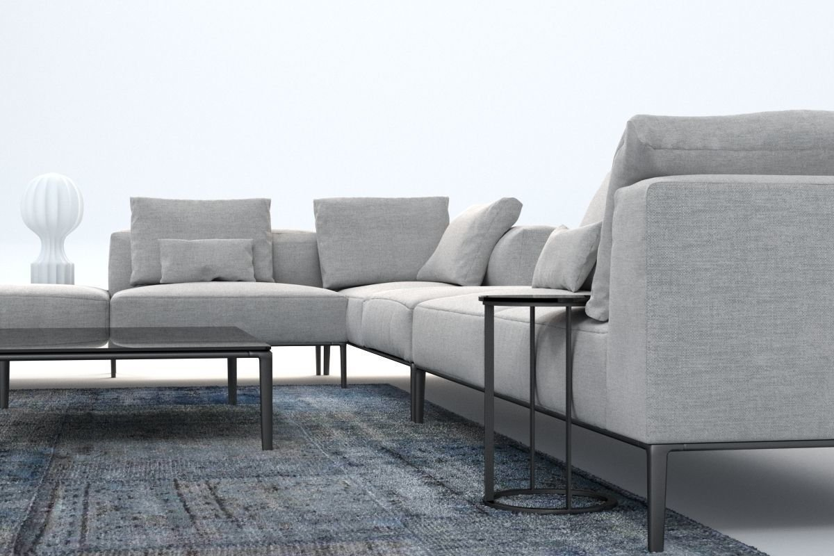 michel sofa b italia. Black Bedroom Furniture Sets. Home Design Ideas