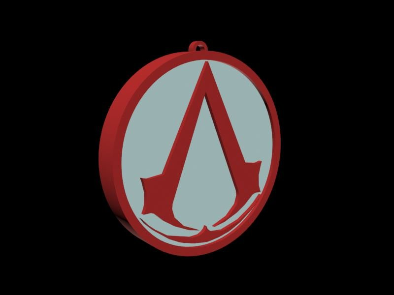 Assassins Creed Logo Free 3d Model In Toys 3dexport