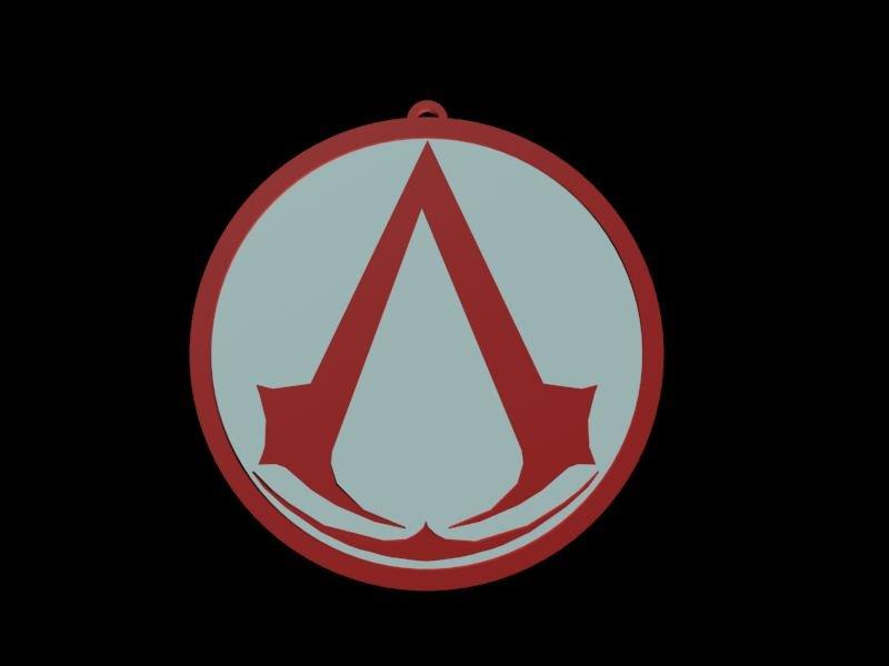 Assassins Creed Logo Free 3d Model In Toys 3dexport