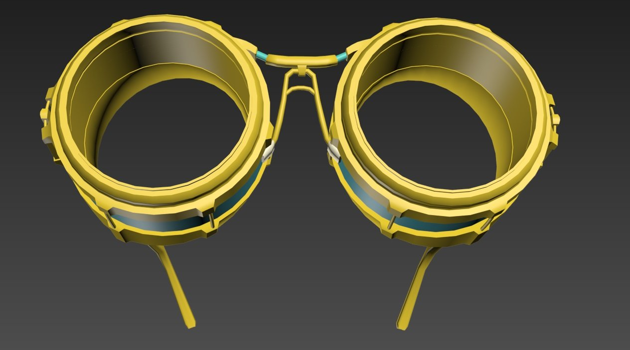 b58ea079127 Steampunk Glasses Free 3D Model in Clothing 3DExport