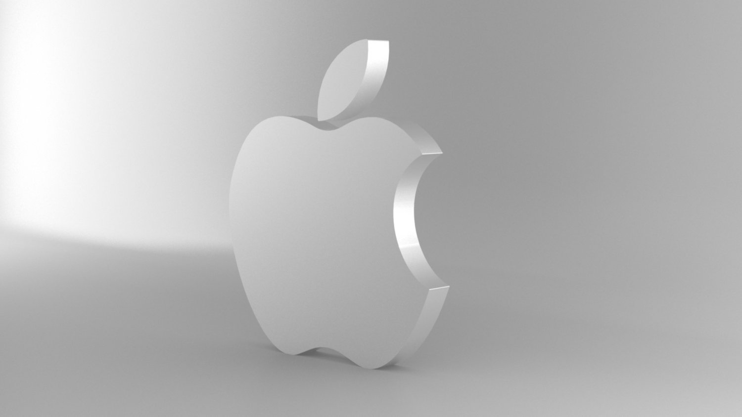 apple logo 3d model in other 3dexport