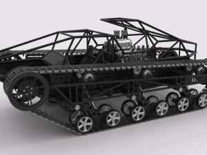 Ripsaw EV1 3D Modell