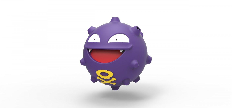 Koffing Pokemon 3D Model in Toys 3DExport