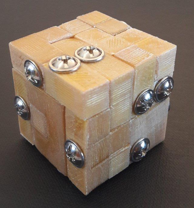 Millennium Puzzle MOLD 3D Model in Puzzle 3DExport