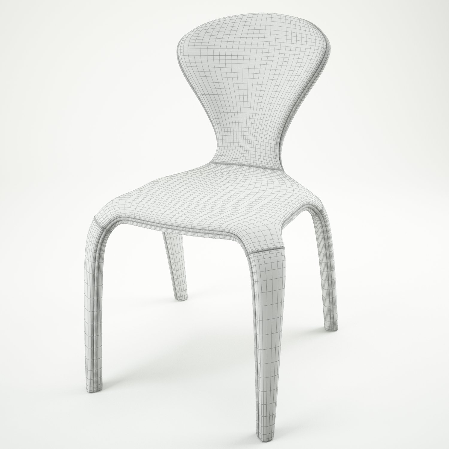 Marilyn Chair. Remove Bookmark Bookmark This Item & Marilyn Chair 3D Model in Stool 3DExport