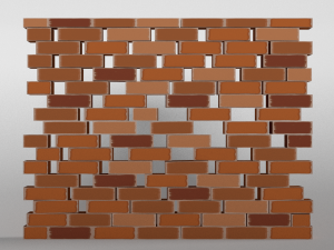 stone wall 3d model - fortnite wall building patterns