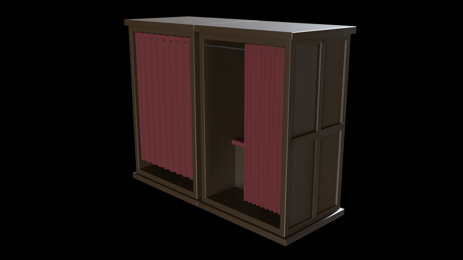Church Confession Box V2 3d Model In Other 3dexport