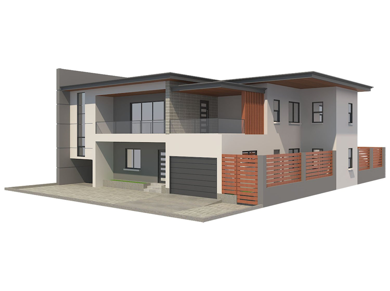 modern house 5 free 3d model in buildings 3dexport - 3d House Models