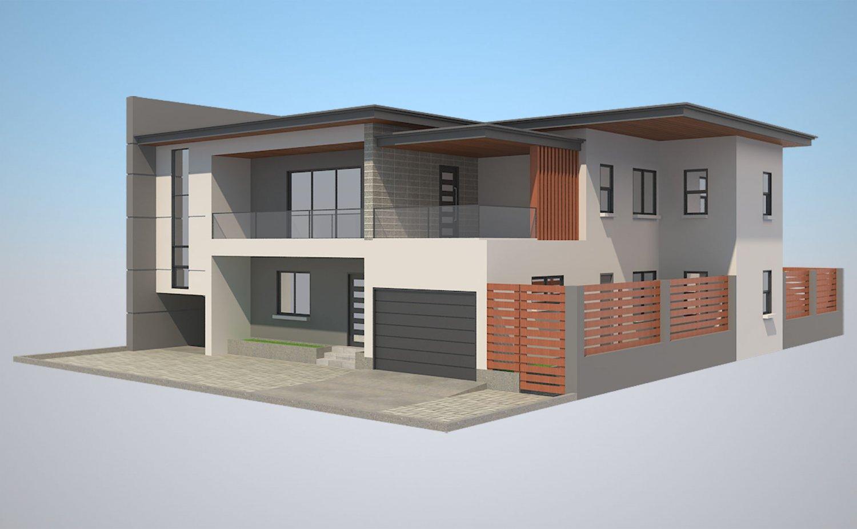 Modern House 5 Free 3d Model In Buildings 3dexport