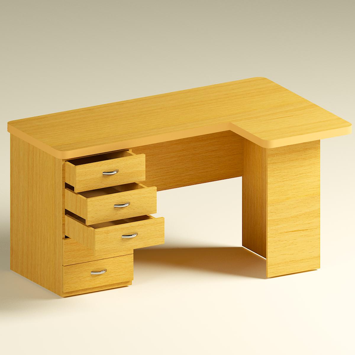 Computer corner table 3d model in table 3dexport watchthetrailerfo
