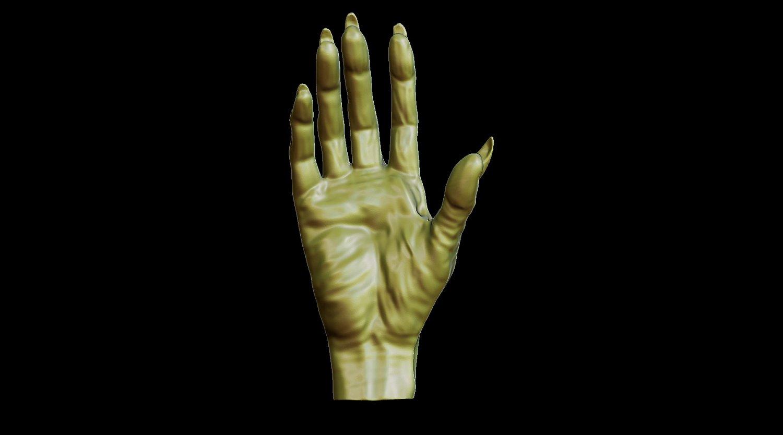 Creepy monster hand for print 3D Model in Monsters & Creatures 3DExport