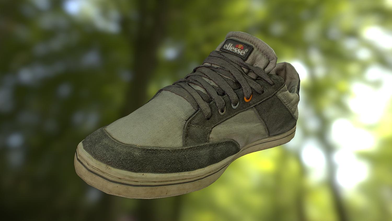 Worn sneaker shoe low poly model 3D Model in Clothing 3DExport