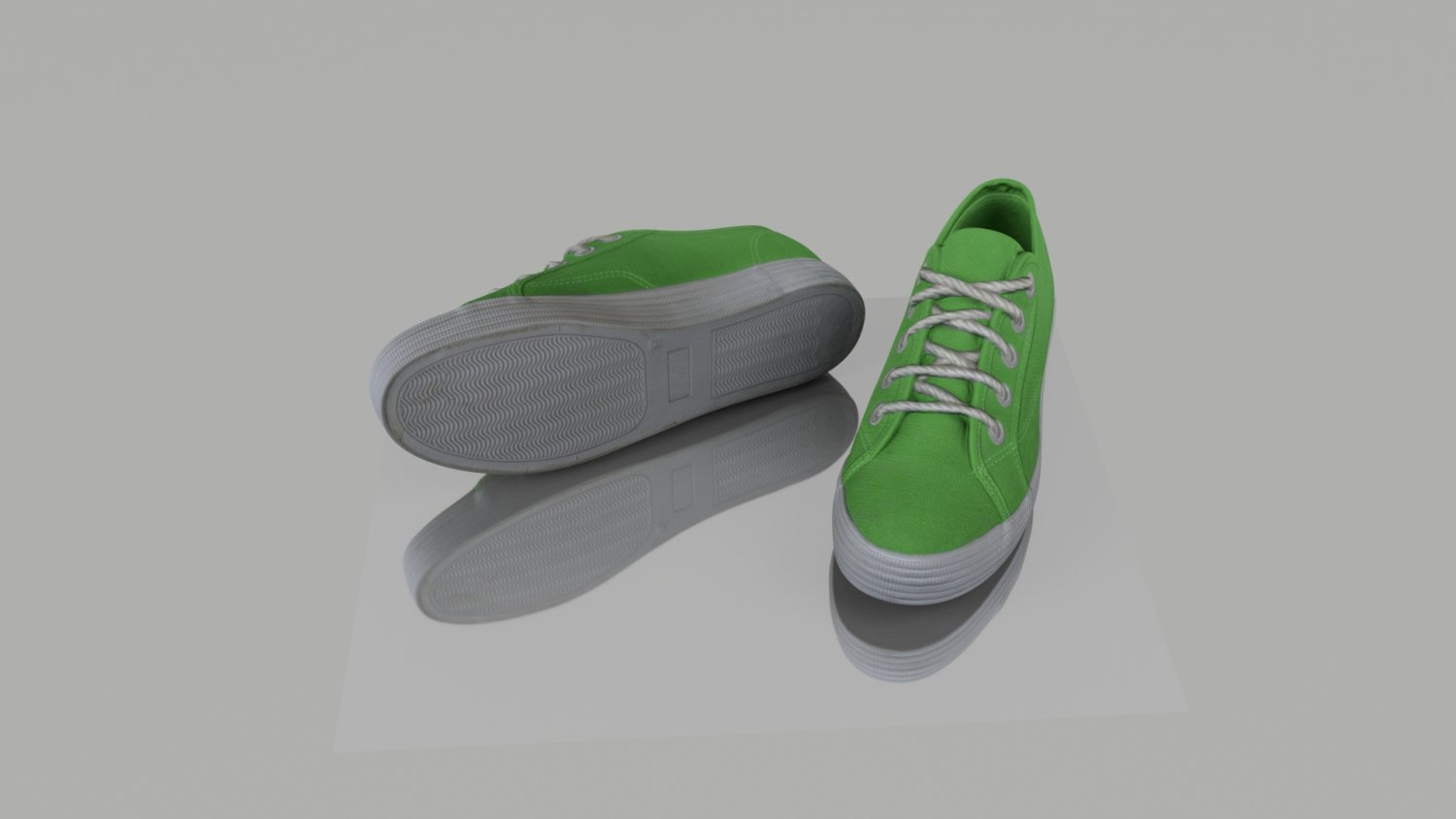 Pair of summer shoes low poly 3D Model in Clothing 3DExport