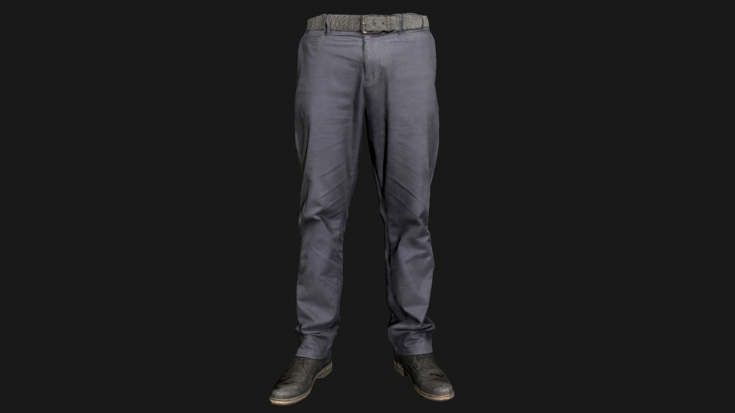 Male outfit set Pants and Shoes low poly 3D Model in Clothing 3DExport