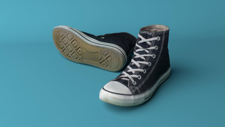d8be2214d2 Converse shoes 3D Model in Clothing 3DExport