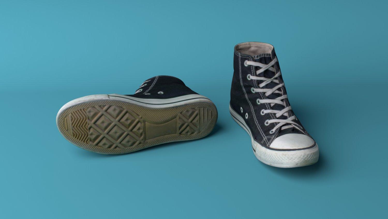 Converse shoes Modèle 3D in Vêtements 3DExport