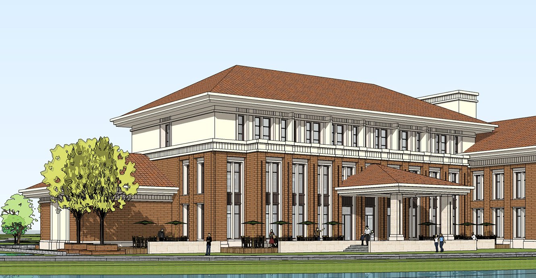 Government- school building 3D Model in Buildings 3DExport