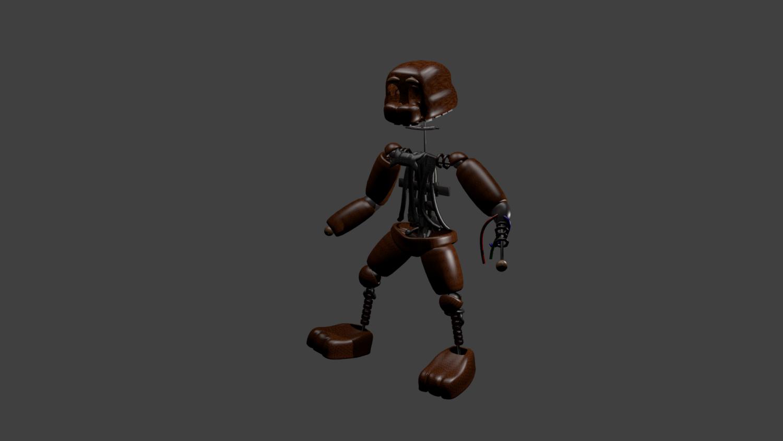 FAN MADE IGNITED FREDDY Free 3D Model in Robot 3DExport
