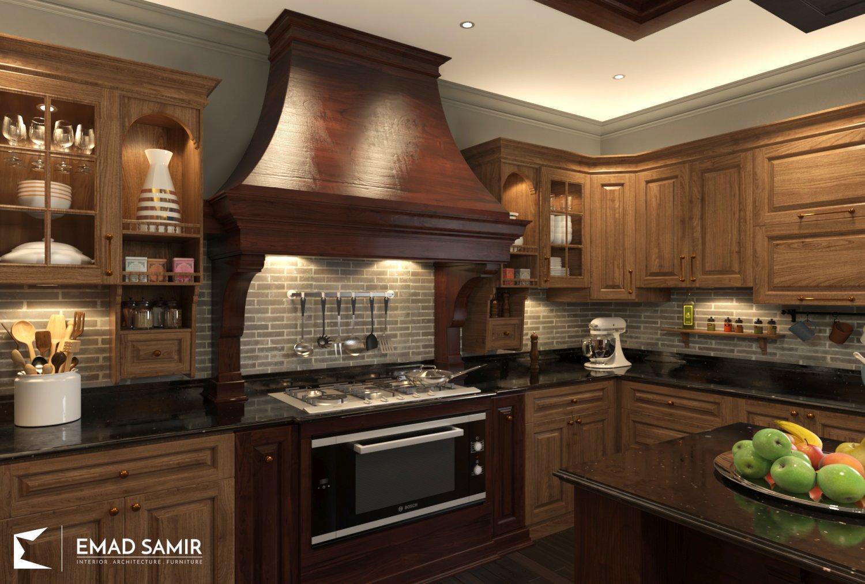 EM Classic Kitchen 3D Model in Kitchen 3DExport