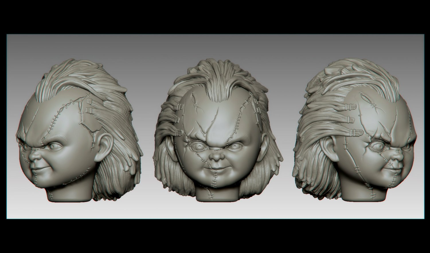 Chucky for 3D printing 3D Model in Monsters & Creatures ...