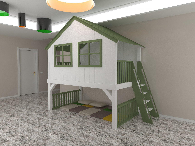 Playhouse 3D Model in Entertainment Center 3DExport