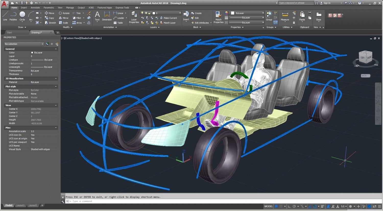Cad Ergonomic Car Template Model Mcar1p1d0v2 3d Model In Concept