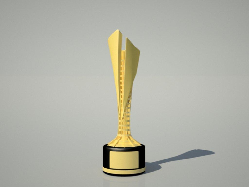 Championship Trophy 3D Model in Awards 3DExport